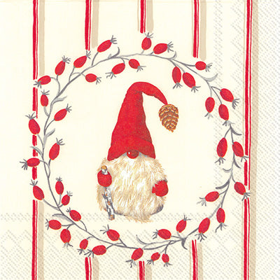 Little Nisse Red Lunch Napkins
