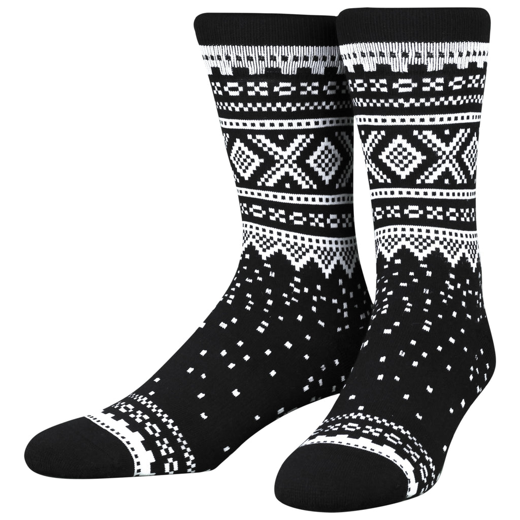 Marius Black Socks, LG/XL