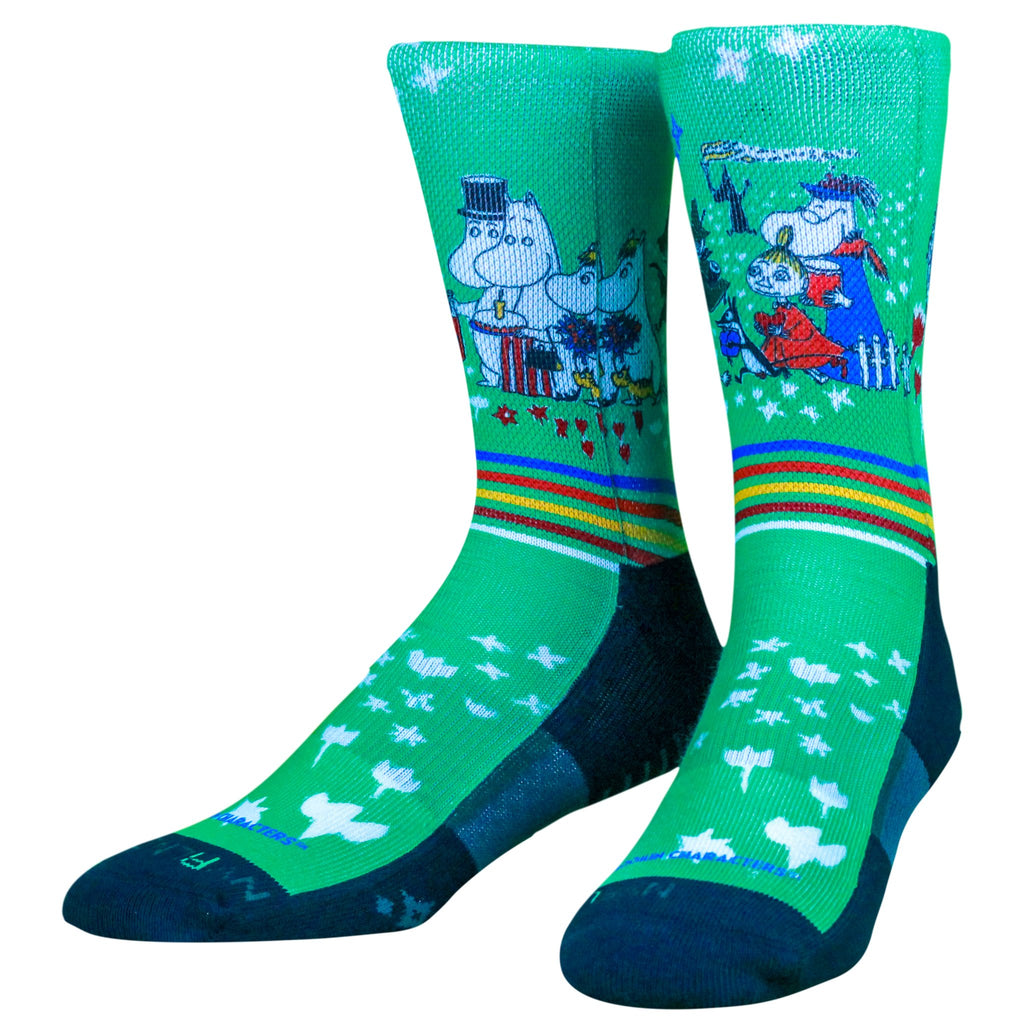 Moomin Birthday Socks, SM/MD