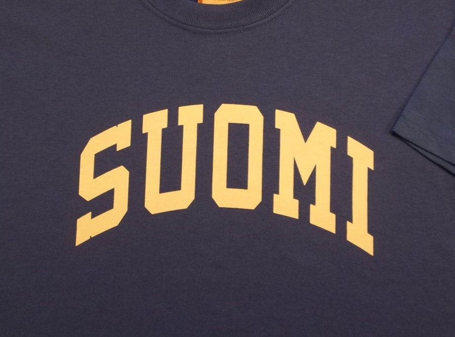 Suomi T-shirt, Royal Blue