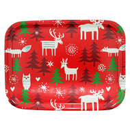 Klippan Small Birch Tray, Christmas Forest