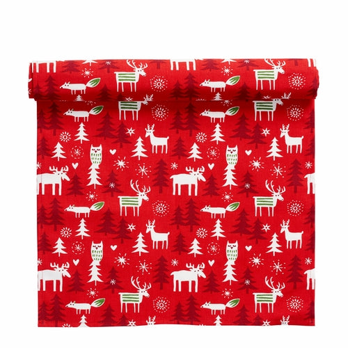 Klippan Table Runner, Christmas Forest