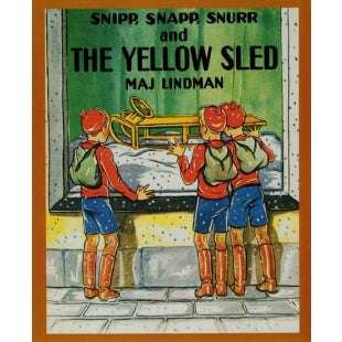Snip, Snap, Snur Yellow Sled