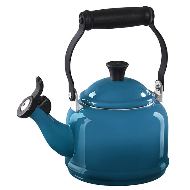 Le Creuset 1.25 QT Demi Kettle, Deep Teal