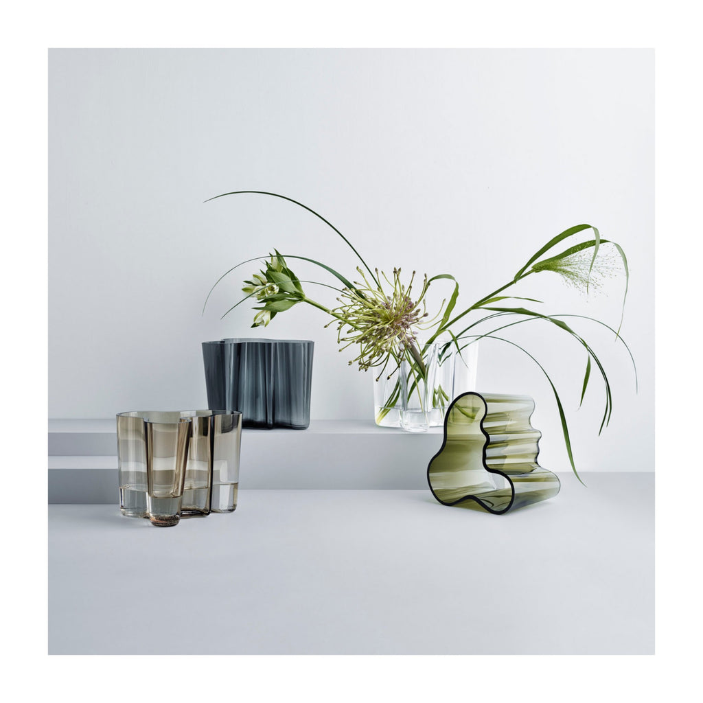 Aalto Vase, Clear, 6.25 in.