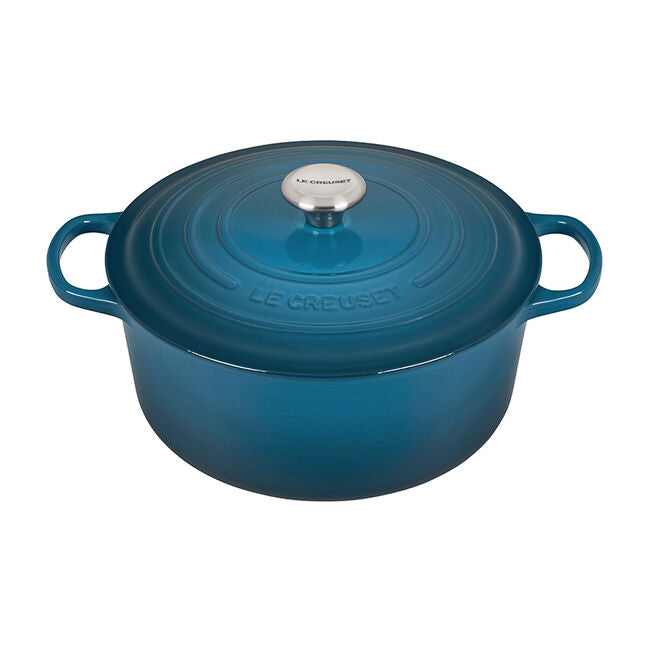 Le Creuset 5.5 QT Round Dutch Oven, Deep Teal