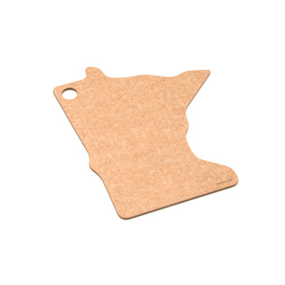 State Shapes Series Minnesota Cutting Board