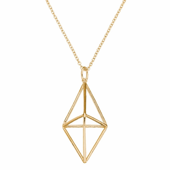 FinnFeelings Himmeli Necklace, Gold