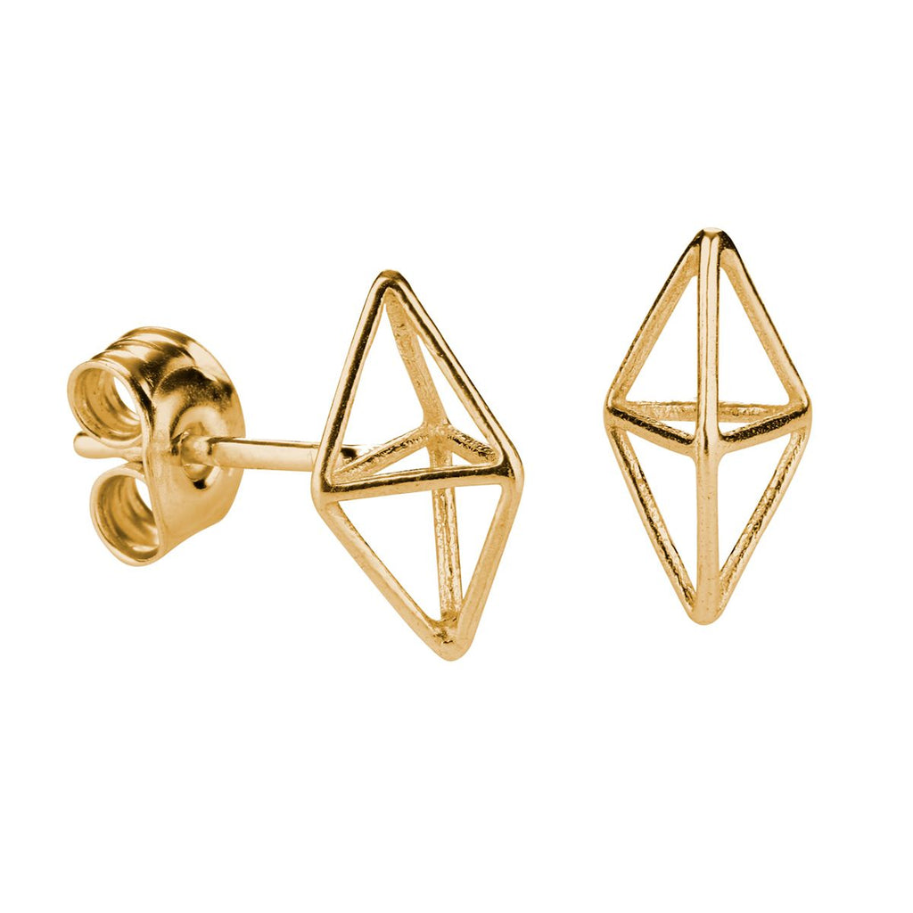 FinnFeelings Himmeli Earrings, Gold