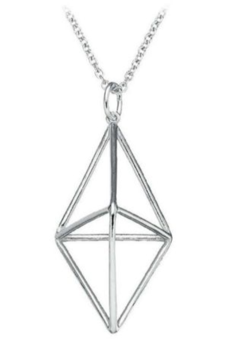 FinnFeelings Himmeli Necklace, Silver