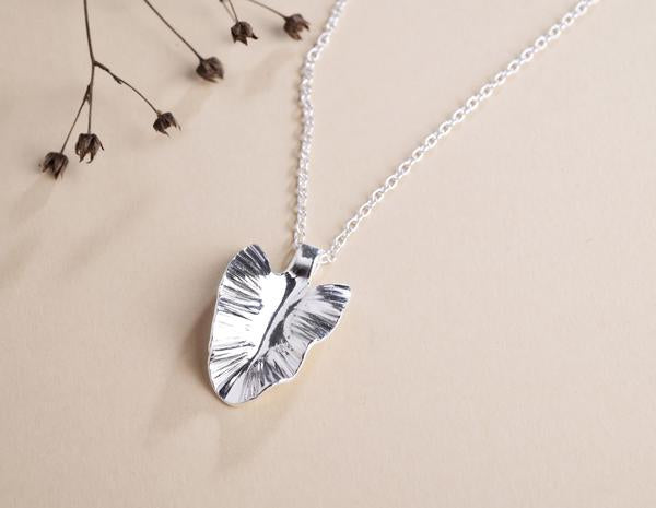 Hillestad Flora Necklace, Silver