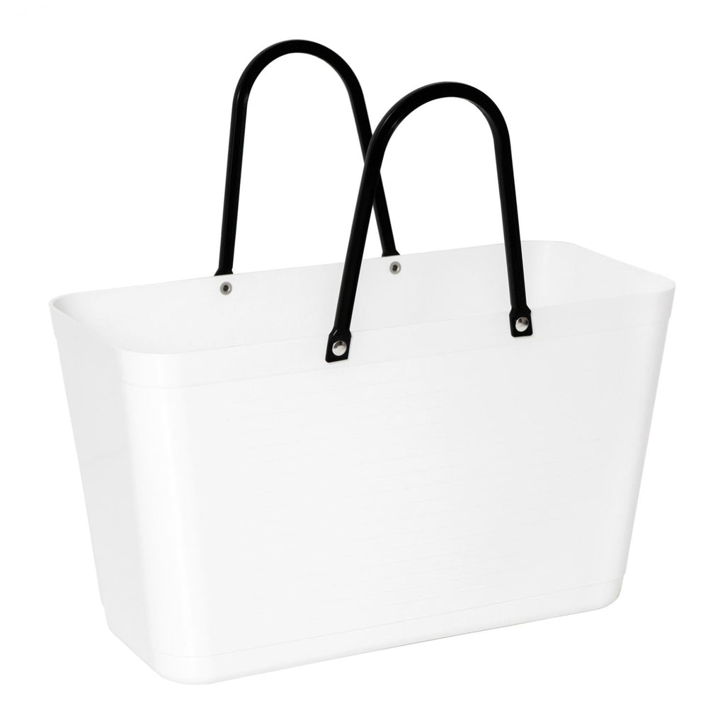 Hinza Swedish Tote, Large White