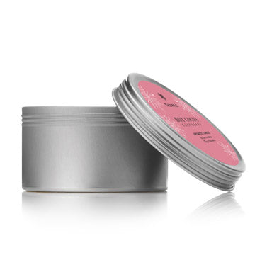 Hot Cocoa Raspberry Candle Tin