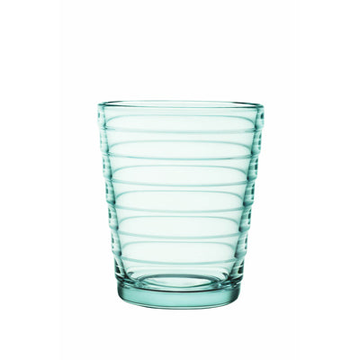 Aino Aalto Small Water Green Tumblers, Set of 2