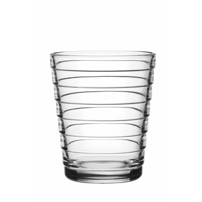 Aino Aalto Small Clear Tumblers, Set of 2