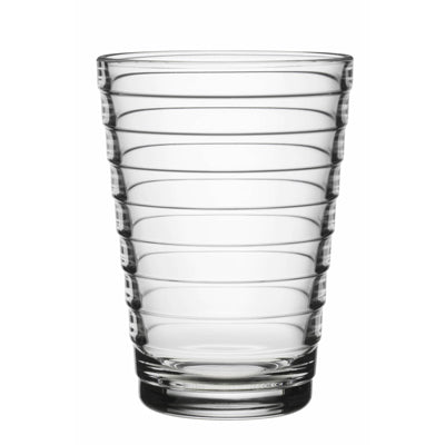 Aino Aalto Large Clear Tumblers, Set of 2