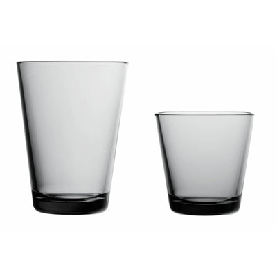 Small Gray Kartio Tumbler, Set of 2