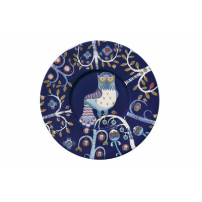 Taika Coffee Cup Saucer, Blue