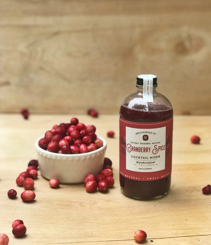 Limited Release Holiday Seasonal Cranberry Spice Cocktail Mixer