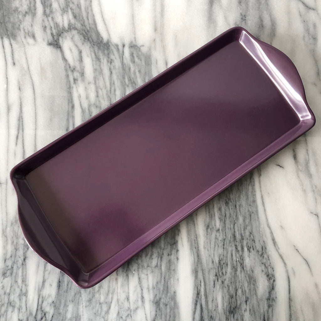 Almond Cake Tray, Purple