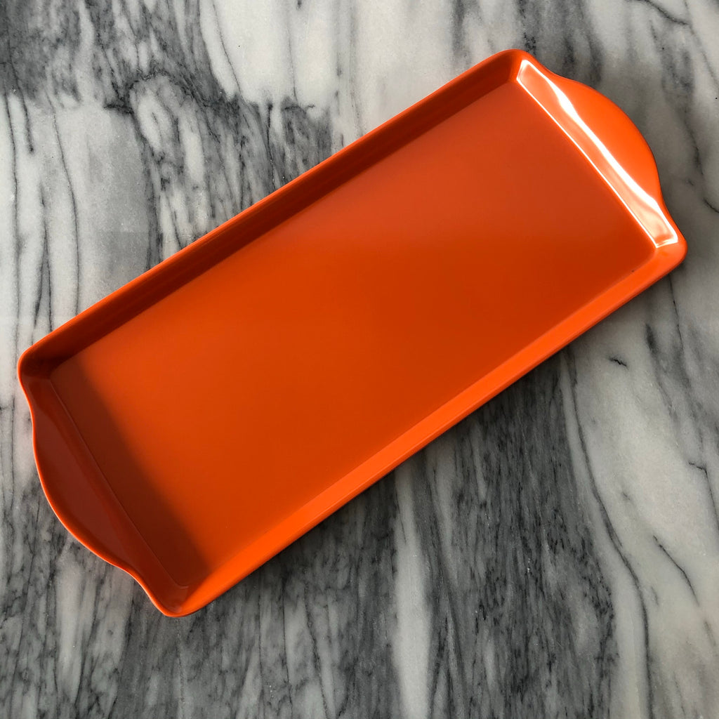 Almond Cake Tray, Orange