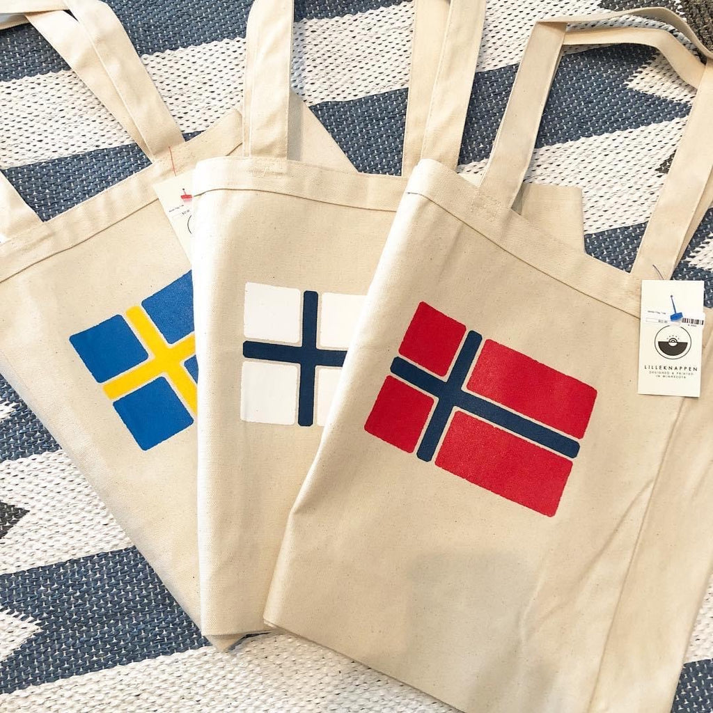 Nordic Flag Tote