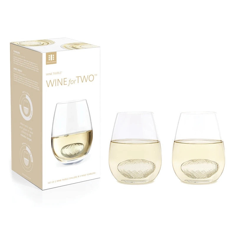 Teroforma Wine Twirls, Wine for Two