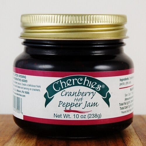 Cherchies Cranberry Hot Pepper Jam
