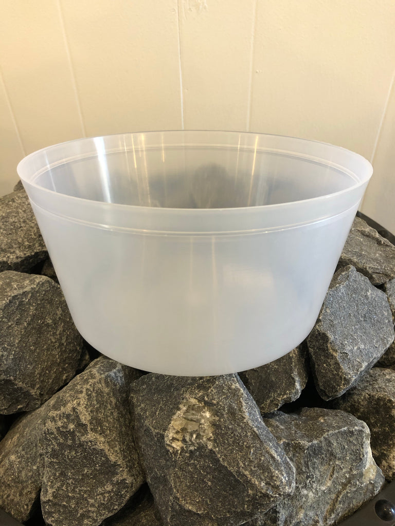 Plastic Liner for Wood Sauna Bucket