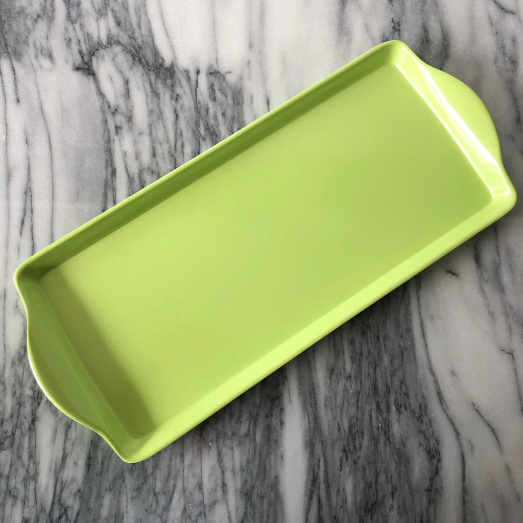 Almond Cake Tray, Green
