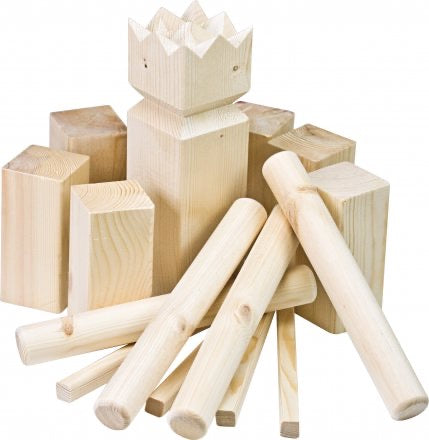 Kubb with Wood Crate (Regulation Size)
