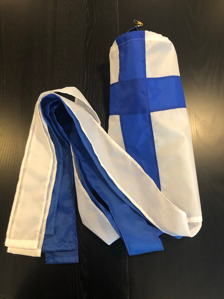 Large Windsock, Finland Flag