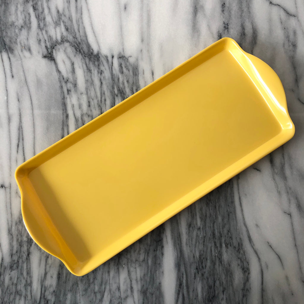 Almond Cake Tray, Yellow