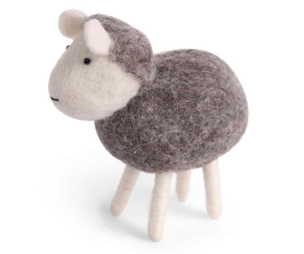 En Gry & Sif Felt Sheep
