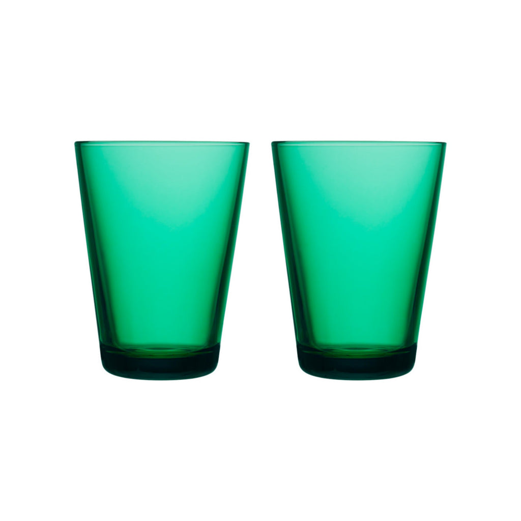 Kartio Large Emerald Tumblers, Set of 2