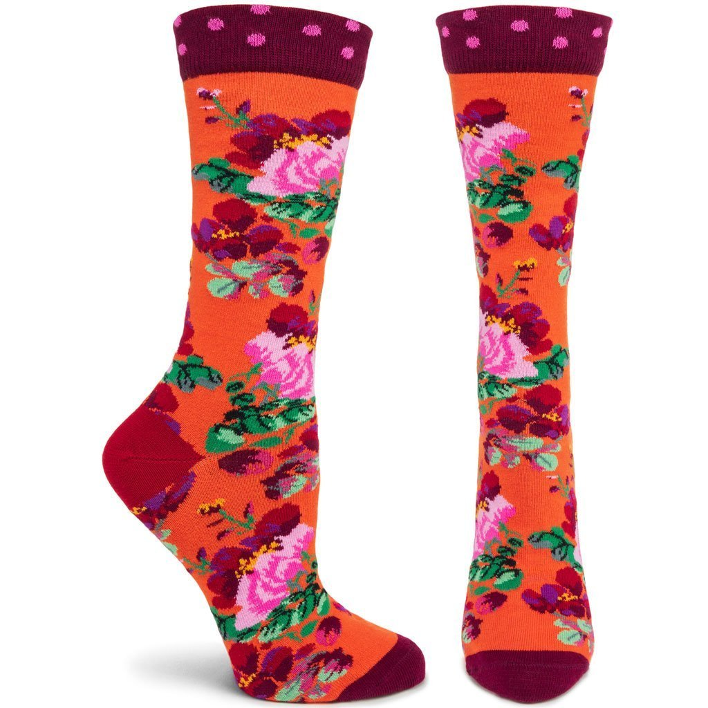Ozone Socks, Lotus, Orange