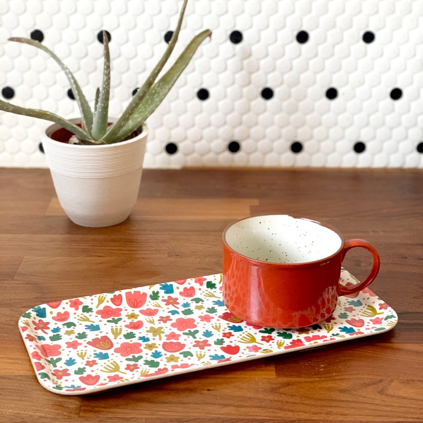 Nordic Florals Swedish Cake Tray