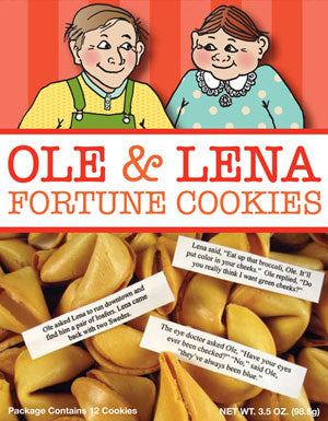 Ole and Lena Fortune Cookies