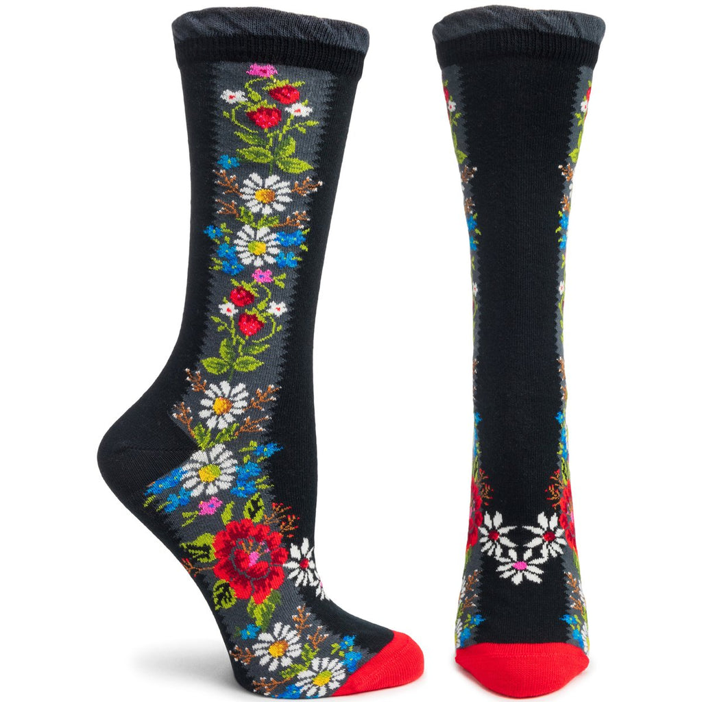 Ozone Socks, Folklore, Black
