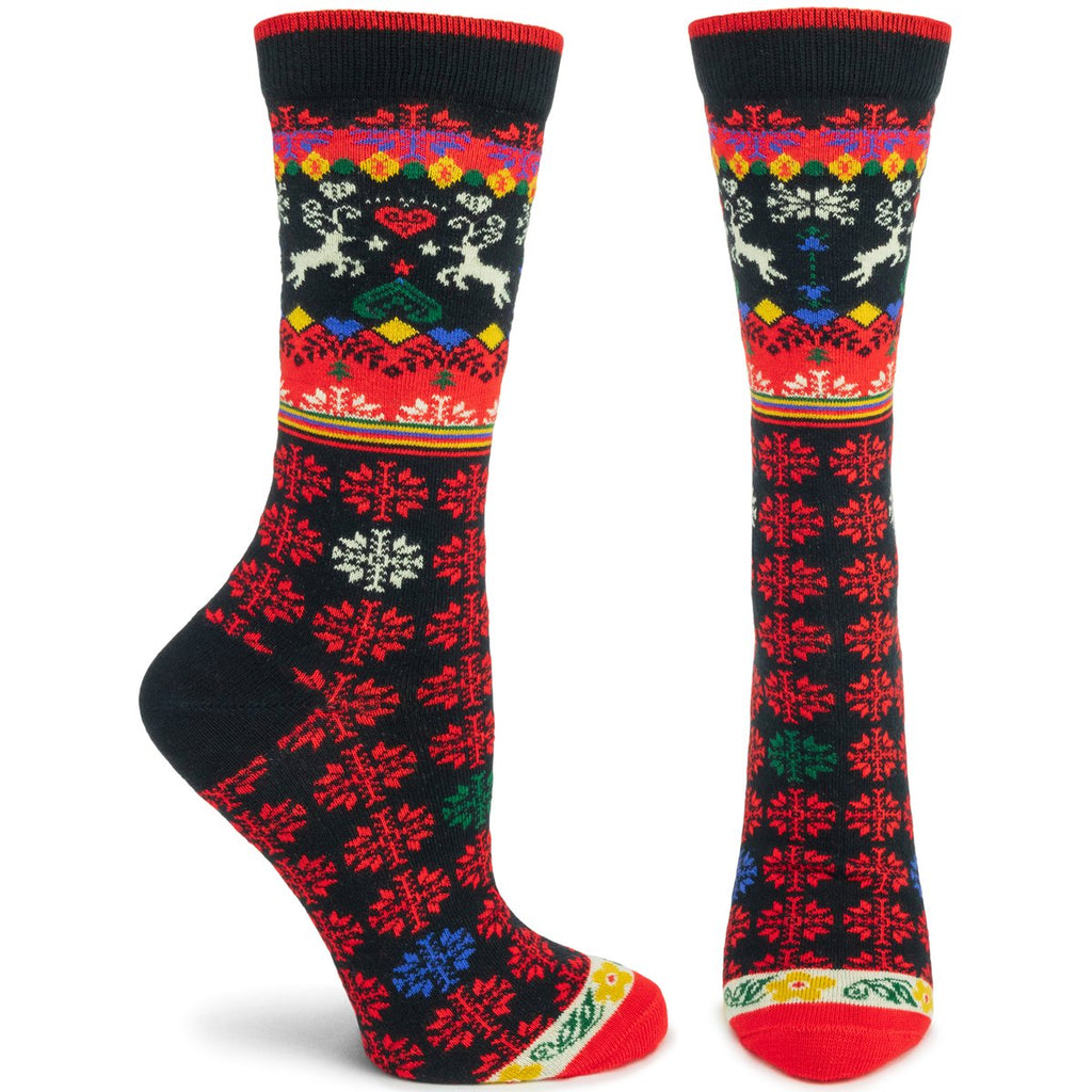 Ozone Socks, Renne, Black