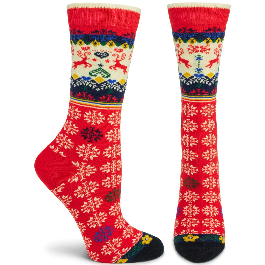 Ozone Socks, Renne, Red
