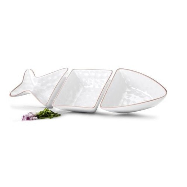 Fish Serving Bowl Set