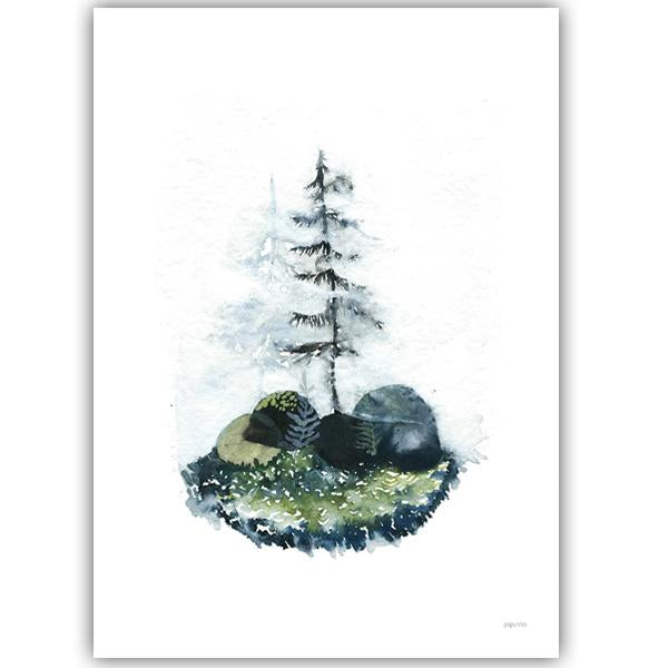 Papurino Art Print, Magic Forest