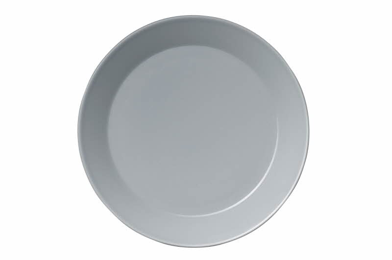 Teema Bread and Butter Plate, Pearl Gray