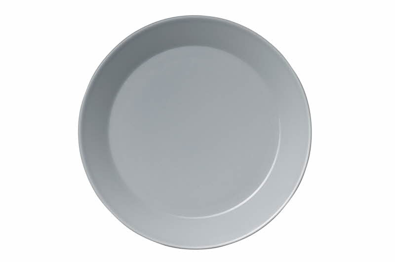 Teema Dinner Plate, Pearl Gray