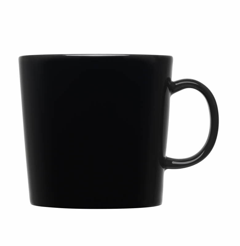 Teema Large Mug, Black