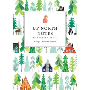 Up North Notecards