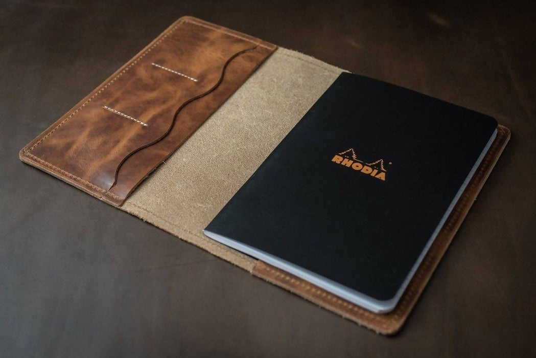CAVALRY A5 NOTEBOOK COVER WITH POCKETS