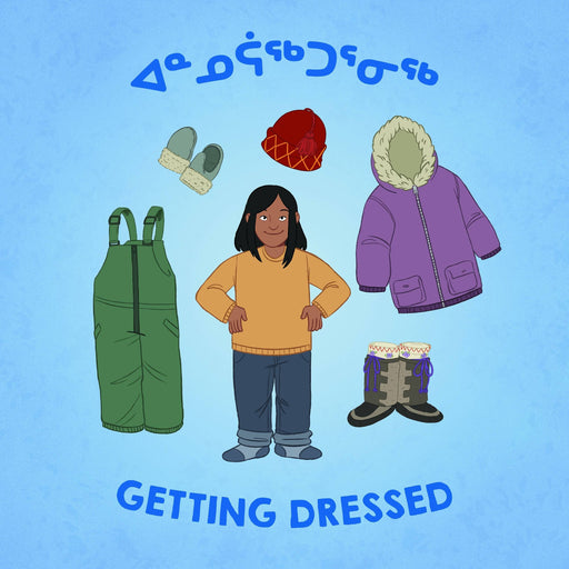 Getting Dressed (English/Inuktitut)