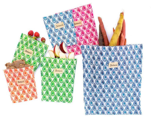 BeeBAGZ™ Family Pack - Beeswax Wrap Bags